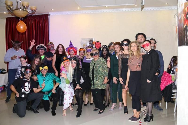 Milonga Halloween - la restaurant Paradis Corso Braila